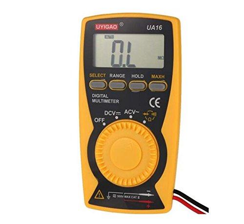 UYIGAO UA16 Brand New Portable Mini Auto Digital Multimeter DMM Voltmeter Ammeter (Dmm Digital Multimeter)