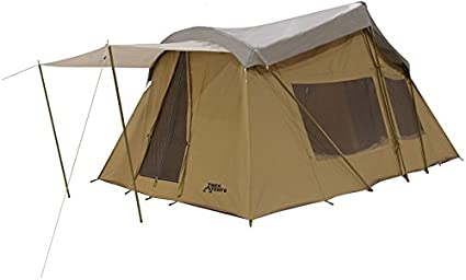 Trek Four Season Cotton Canvas Tent 10x16 (Sleeps 9) Full Rain FLY  sc 1 st  Amazon.com : 4 season wall tent - memphite.com