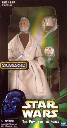 Star Wars 12 inches figure [ THE POWER OF THE FORCE ] EPISODE ‡W: A NEW HOPE OBI-WAN-KENOBI Obi-Wan with training gear (12 Inch Obi Wan Kenobi Episode)