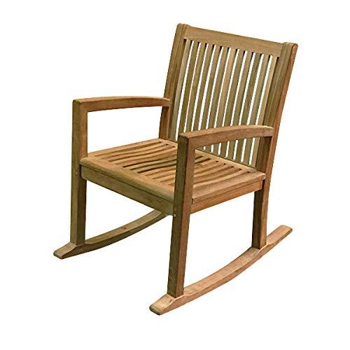 Atlanta Teak Furniture - Teak Rocking Chair - Grade-A (Atlanta Teak)