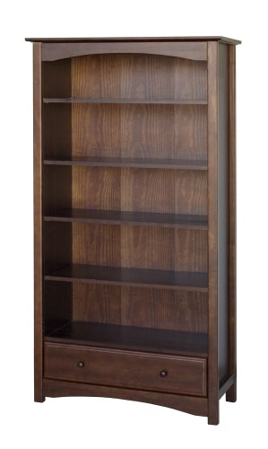 Cheap  DaVinci Mdb Book Case, Espresso