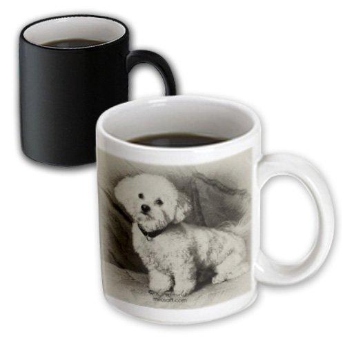 3dRose Milas Art Dogs Transforming