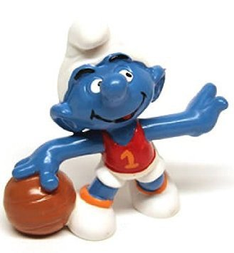 Schlelich - The Smurfs - 1985 - Basketball Smurf