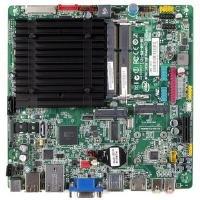 Intel Single Socket - Intel DN2800MT Desktop Motherboard Atom (D2800) 1.86GHz Socket BGA559 Intel NM10 Express Mini-ITX Gigabit LAN (Single)