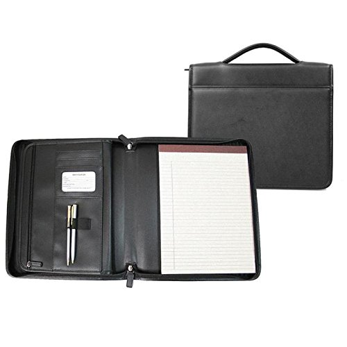 Genuine Leather Executive Brief Padfolio