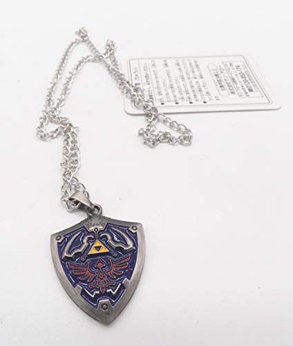Yuna Kingdom Hearts - The Legend Of Zelda Shield Alloy Metal Pendant Necklace ~Cosplay~ #6