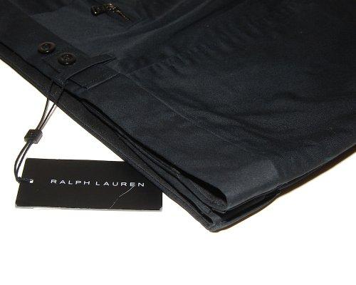 Ralph Lauren Black Label Mens Slacks Flat Front Cotton