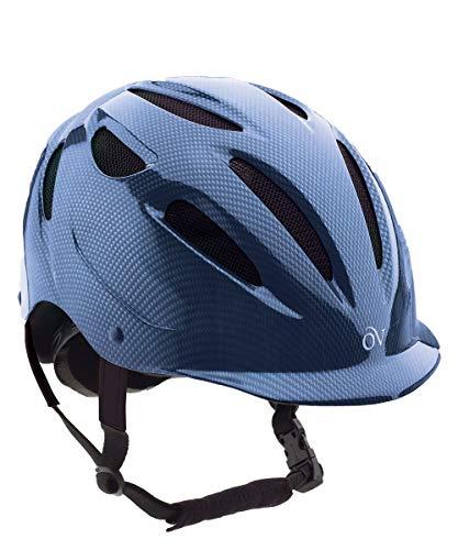 (Ovation Women's Protege Riding Helmet, Denim, Small/Medium)