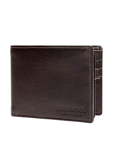 Teakwood Leather Men's wallet Brown WLT_NA_03