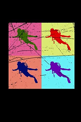 Notizbuch: Tauchen schwimmen A5 Notebook I Taucher Schwimmer Schnorcheln Geschenk I Tagebuch oder Notizheft für Sporttaucher I Wassersport Journal (German Edition) (Frau Neoprenanzug)