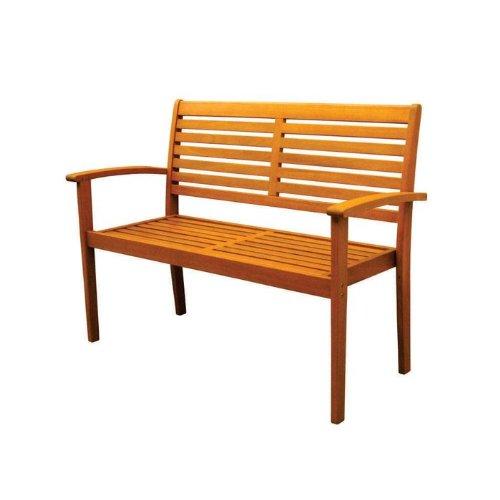 Royal Tahiti Outdoor Furniture: Oslo Contemporary Bench