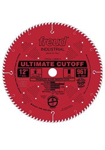 Freud 12`` Ultimate Cut Off Saw LU85R012. 96 Tooth 1`` Bore Miter & Cross Cut ATB (12' Cut Off Saw)
