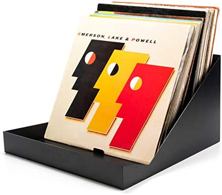 """Caja para Discos de Vinilo Audivisions """"Matrix"""" – Soporte metálico ..."""