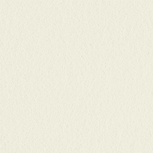 "Ivory Solid Felt Fabric / 72"" Wide / Sold By The Yard (FB)"