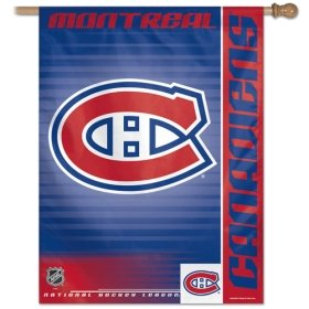 NHL Montreal Canadiens 27-by-37-Inch Vertical Flag