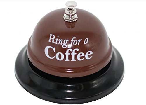 Desk Call Bell Ring for Service Great Fun Creative Novelty Gag Party Gift (Ring for a (Novelty Kitchen Accessories)