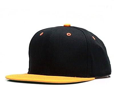 City Hunter Cf919t New Two Tone Snapback Black/orange by City Hunter