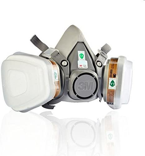 Chemical Gas 6200 Respirator 3m Icehm-29 Protection N95 Double Mask Filter