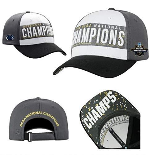 Elite Fan Shop Penn State Nittany Lions National Wrestling Champs Hat - Adjustable - ()