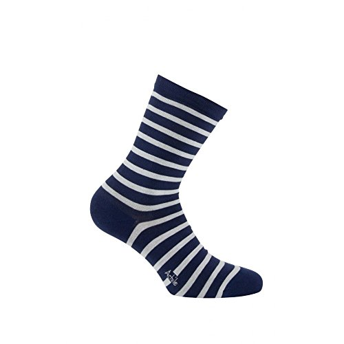 Calcetines Modelo wen medios Achile Ma Blue Midnight Cotton A6q4wA