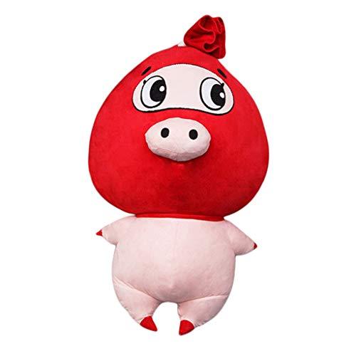 D DOLITY 1セット ぬいぐるみキット DIY おもちゃ 豚 動物 可愛い 初心者向け