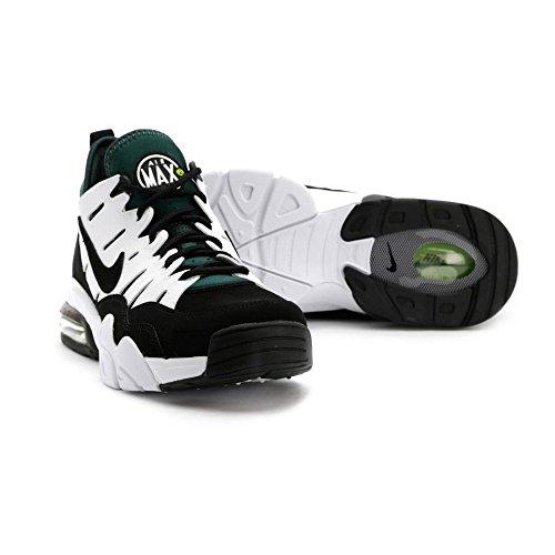 Nike Hombres Air Trainer Max 94 Bajo Negro / Pino Verde Cuero
