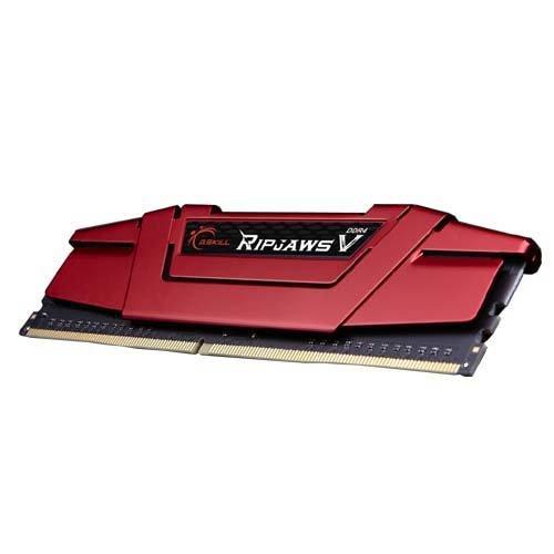 (G.SKILL 8GB Ripjaws V Series DDR4 PC4-19200 2400MHz for Intel Z170 Platform Desktop Memory Model F4-2400C15S-8GVR)
