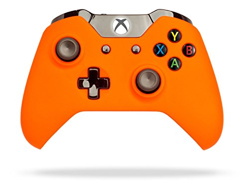 Price comparison product image Xbox One Soft Touch Wireless Controller (Orange)
