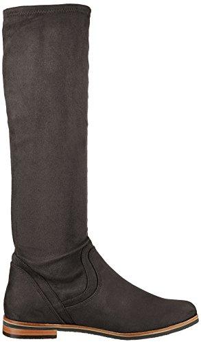 Caprice Women's 25507 Boots, Bordeaux Black (Black Stretch 044)