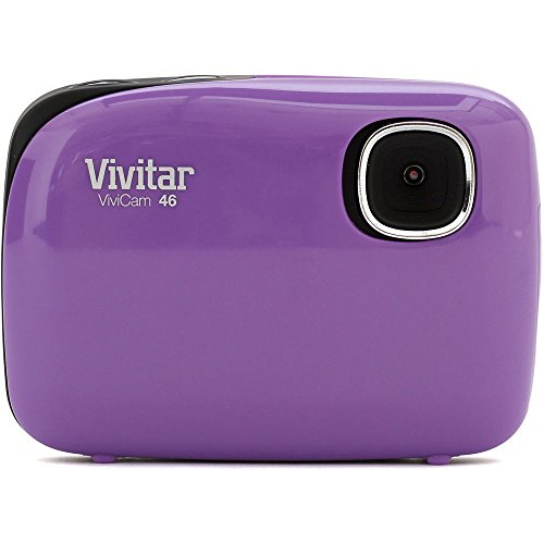 Vivitar V44 4MP Digital Camera with 1.5-Inch LCD Screen, Colors and Styles May Vary