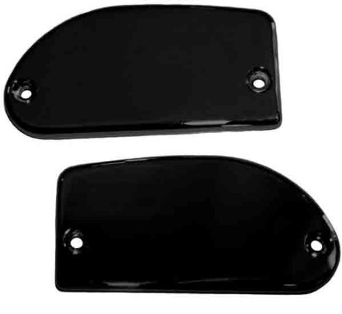 Baron Custom Accessories Master Cylinder Cover - Smooth - Black BA-7681-00B