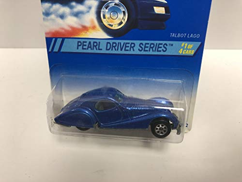 TALBOT LAGO Pearl Driver Series 1995 Mattel Hot Wheels Collector diecast 1/64 scale No. 295