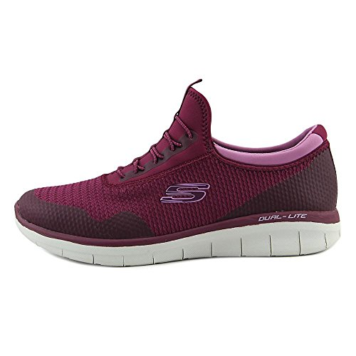 Skechers Womens Synergy 2.0-mirror Image Fashion Sneaker Lampone