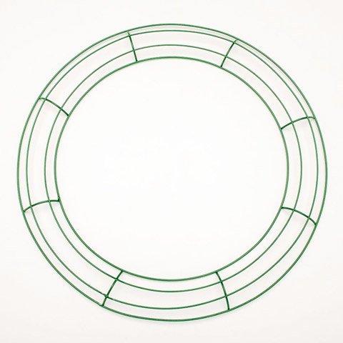 Wreaths Darice (Darice Bulk Buy DIY Crafts Metal Wreath Form Green 16 inches (10-Pack) 170150)