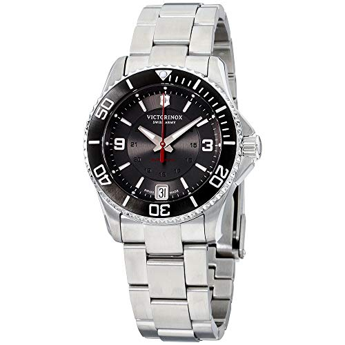 Victorinox Women's 'Maverick' Swiss Stainless Steel Automatic Watch (Model: 241708)