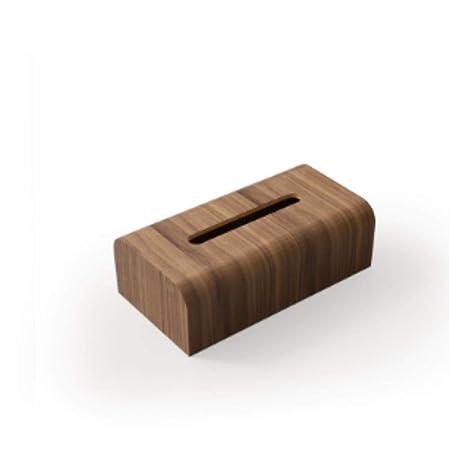 JINMENHUO Caja de pañuelos de Madera de Estilo japonés Mesa de ...