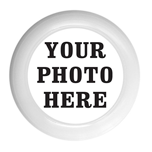 Infusion Custom Photo or Company Ultimate Frisbee Disc - 175g, White