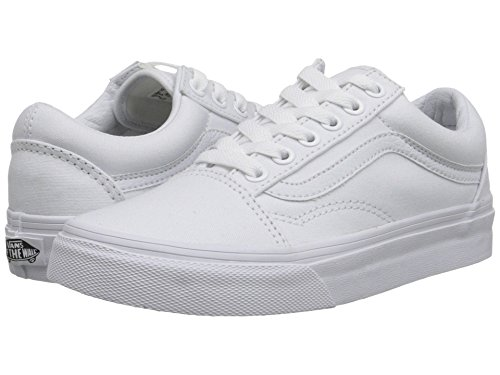 Vans Old Skool True White Mens US 5.5 (Vans White Shoes)