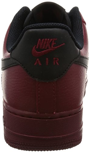 Nike Force Team Mens 1 Trainers Leather 07 Air Black Red SqSxr