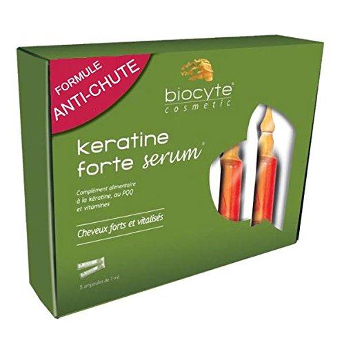 Biocyte Anti-Hair Loss Keratine Forte Serum 3 x 5 Phials by Biocyte
