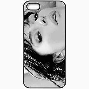 Personalized For SamSung Galaxy S4 Mini Phone Case Cover Skin Monica Bellucci Black