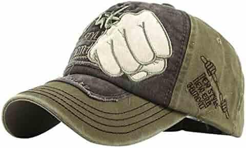 6fc5e086a6e Unisex Outdoor Baseball Tigivemen Caps Cotton Sun Hat Embroidered Unisex  Adjustable Black