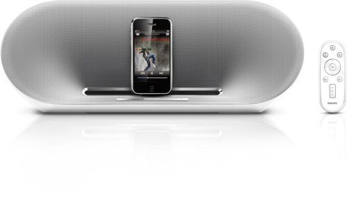 (Philips Fidelio DS8500 Speaker Dock with Remote for iPod/iPhone (White/Silver))