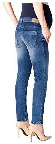 ESPRIT Maternity Pants Denim Otb Slim, Vaqueros Premamá para Mujer Azul (Stonewash 930)