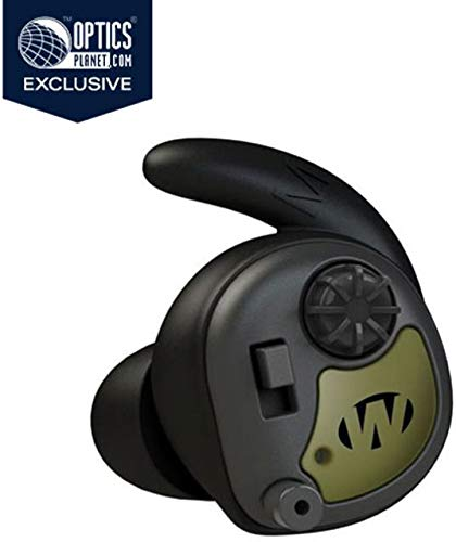 Walkers OpticsPlanet Exclusive Silencer in The Ear Digital Ear Buds, 3 Tip Sizes, 25 GWP-SLCR-ODG by Walkers