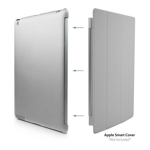 Marware MicroShell Schutzhülle für Apple iPad 3 rot Silber