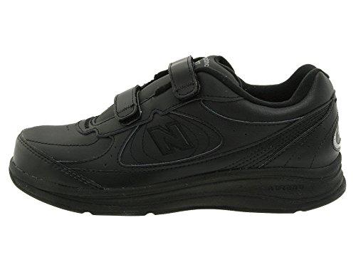 (ニューバランス) New Balance レディースウォーキングシューズ?靴 WW577 Hook and Loop Black 6 (23cm) B - Medium