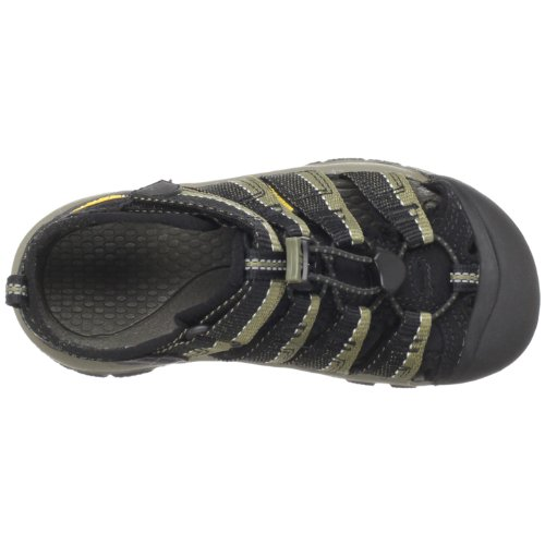 KEEN Newport H2 Sandal (Toddler/Little Kid/Big Kid),Black/Stone Gray,13 M US Little Kid by KEEN (Image #7)