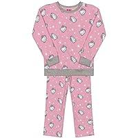 Conjunto De Pijama Manga Longa Bebê Hello Kitty