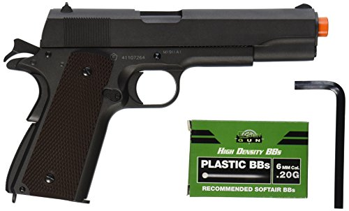 (Colt 100th Anniversary 1911 Co2 Full Metal Airsoft Pistol, 6mm )
